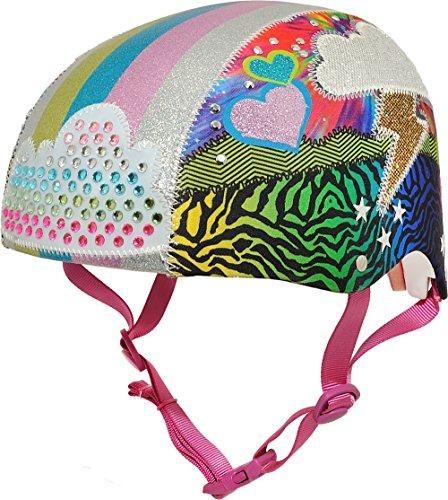 Raskullz Girls Loud Cloud Sparklez Helmet , Loud Cloud Ages 5+