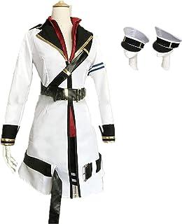 【草莓酱cosy】艦隊これくしょん -艦これ- ガングート Гангут コスプレ衣装 +帽