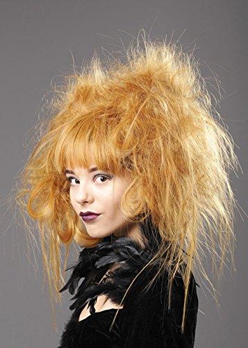 Auburn Deluxe Womens lumière arrière peigné perruque Zombie