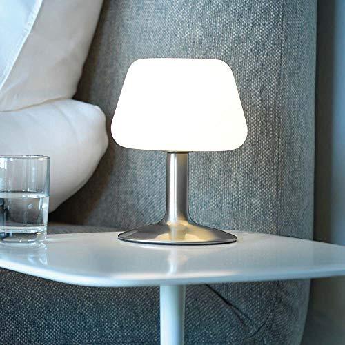 Paul Neuhaus LED-Touch-Tischleuchte Till Silber - (4078-55)