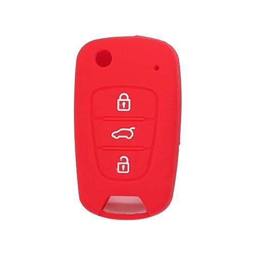 Fassport CV2152 - Funda de silicona para llave de 3 botones de HYUNDAI y KIA ,
