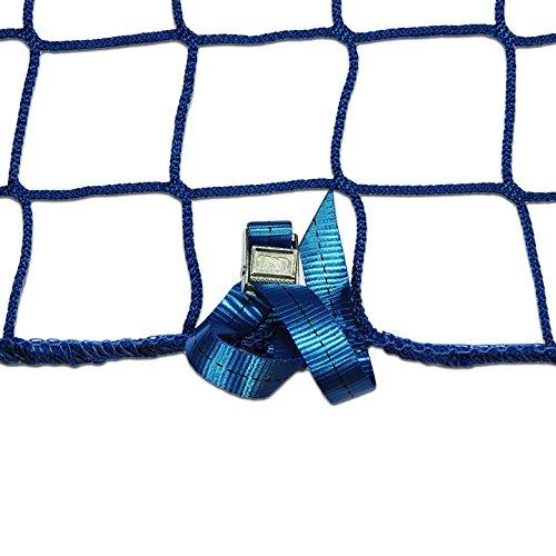 Seitenschutznetz Dachdeckerfangnetz mit angenähten GSV (2 x 5m, blau)