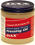 Dax Pressing Oil 14 Ounce Jar (414ml) (2 Pack)