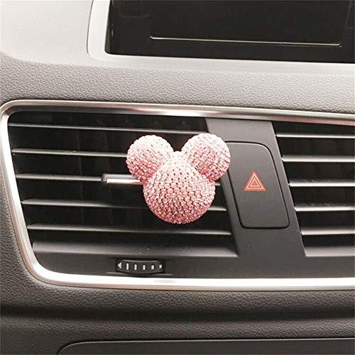 BTZHY Geur Gepersonaliseerde auto airconditioning outlet parfum Interieur decoratie voor dames Auto Parfum Air Freshener Auto Styling Diffuser E
