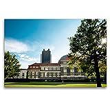 CALVENDO Toile de qualité supérieure 120 cm x 80 cm, Université Hambourg | Tableau sur Toile, Impression sur Toile, Impression sur Toile (Lieu de Orte