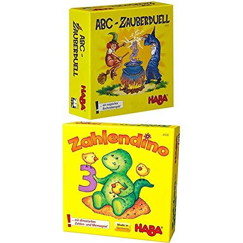 HABA ABC Zauberduell + Zahlendino