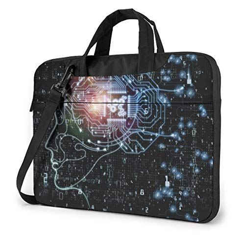 Best Prices! Laptop Case Computer Bag Sleeve Cover Ai Intelligence Image Waterproof Shoulder Briefca...
