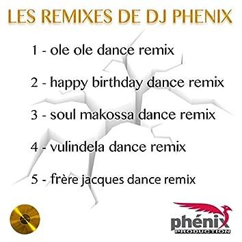 Les remixes de DJ Phenix