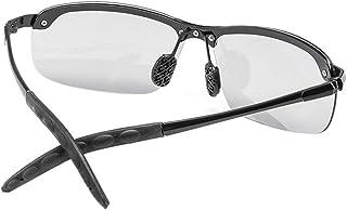 HehiFRlark - HehiFRlark - Gafas de sol fotocromáticas para hombre, polarizadas decoloración camaleón, color negro