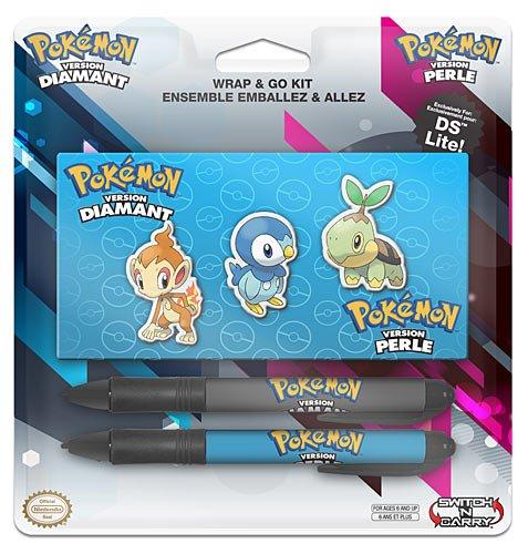 BD & A Bensussen Duits & Associates Mini PAK KIT Pokemon accessoireset voor Nintendo DS Lite