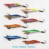 タコ釣り 蛸(たこ)エギ 3.0号 8種 8本 セット エギング 仕掛け A20takoegi30h8A