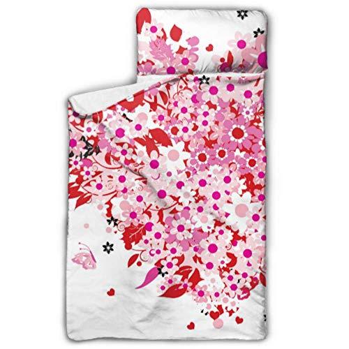 WYYWCY Tapis de Sieste pour Enfants d'âge préscolaire Pretty Sweet Pink - Sweet Heart, garçon