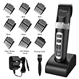 BESTOPE Professional Cordless Hair Clippers Rechargeable Hair Trimmer Electric Hair Clipper Set