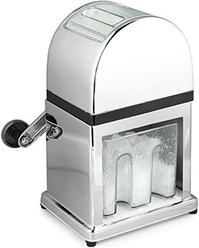 HIZLJJ Manual Ice Crusher with Stainless Blades C Hand Steel and New mail order Trust
