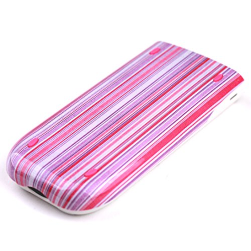 Guerrilla Hard Slide Case-Cover for TI-84 Plus, TI 84-Plus C Silver Edition, TI-89 Titanium Graphing Calculator, Pink Stripe Photo #6