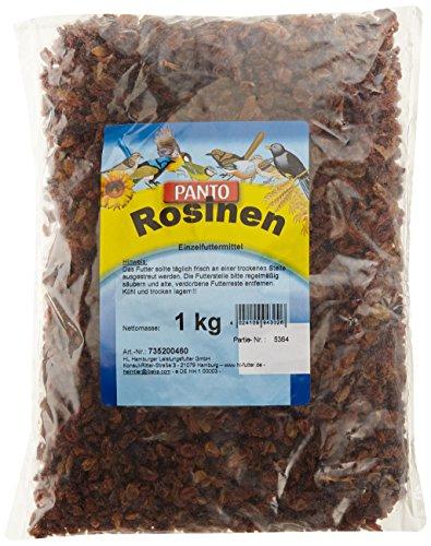 Panto Rosinen für Wildvögel 1kg, 1er Pack