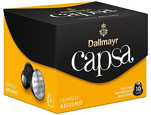 Dallmayr Capsa Lungo Belluno, 10 Kaffeekapseln - 10Portionen - 6x