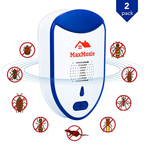 2020 Ultrasonic Pest Repeller Humane Mice Control Newest Electronic Insect Repellent Easiest Way to...