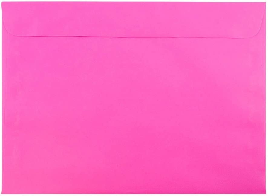 Phoenix Mall JAM PAPER 9 x 12 Booklet Colored Fuchsia Envelopes Hot Ultra P Sale special price -