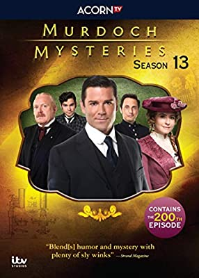 Murdoch Mysteries, Season 13 from Acorn Media