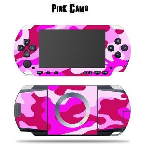 Mightyskins Protective Vinyl Skin Decal Cover Sticker Compatible with Sony PSP - Pink Camo