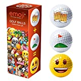 Emoji-Unisex Novelty Fun Golf Bälle