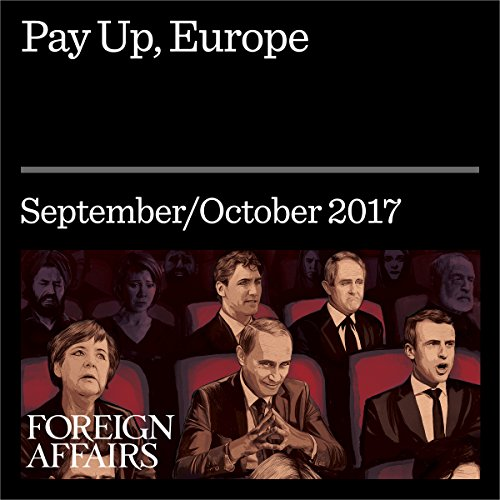 Pay Up, Europe audiobook cover art