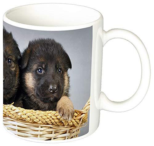 MasTazas Pastor Aleman Cachorro German Shepherd Puppy D Tasse Mug