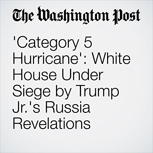 'Category 5 Hurricane': White House Under Siege by Trump Jr.'s Russia Revelations copertina