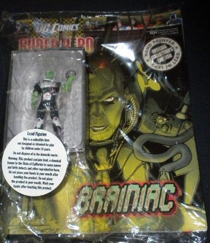 Marvel Figurine Collection Lead Figurine: Brainiac #65 / Eaglemoss - Sealed w/Collector's Magazine - VERY RARE!! by Eaglemoss