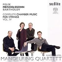 メンデルスゾーン : 弦楽のための室内楽曲全集 vol.4 (Felix Mendelssohn Bartholdy : Complete Chamber Music for Strings Vol. IV / Mandelring Quartett , Gunter Teuffel) [SACD Hybrid] [輸入盤]