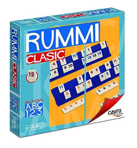 Cayro 946181 - Juego sobremesa Rummi 4 jugadores