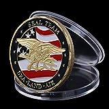 CHENLIGHT Souvenir Münze US Sea Land Air Seals Team Coin Navy Military Challenge Münze -