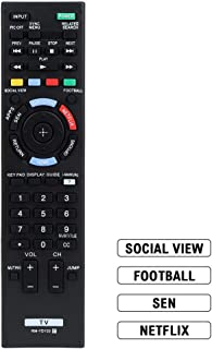 Gvirtue RM-YD103 Remote Control Replacement for Bravia Sony TV Remote HDTV LCD LED 3D Smart Television