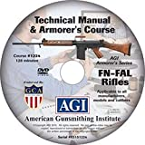 American Gunsmithing Institute Armorer's Course Video on DVD for FN-FAL Rifles - Technical Instructions for Disassembly, Cleaning, Reassembly and More