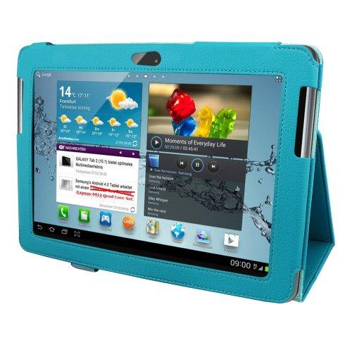 Colorfone Premium Business PRO Case/Custodia per Samsung P7500/P7510 Galaxy Tab 10.1'/Tab2 10.1'/3G Turchese