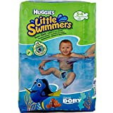 Huggies Little Swimmers Disposable Swim Pants, Small (15lb-34lb.), 12-Count...