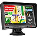 "Junsun 9"" GPS Navigation for Car with Sunshade HD Touch Screen"