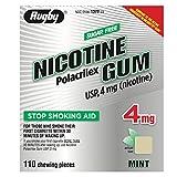NICOTINE GUM RUGBY MINT 4 mg 110