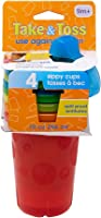 The First Years Take & Toss - Spill Proof Cups (5pcs) (color may vary)