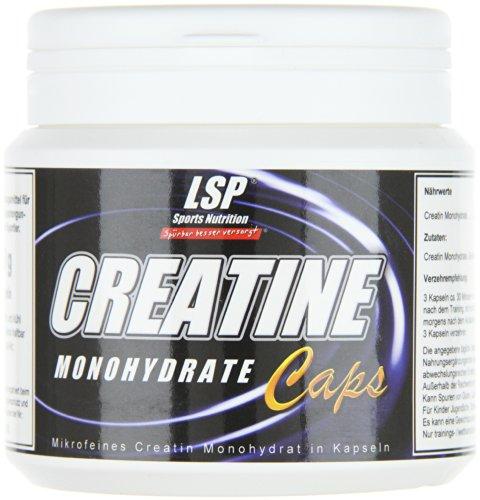 LSP Creatine Monohydrat Caps 250 Kapseln, 1er Pack (1 x 250 g)