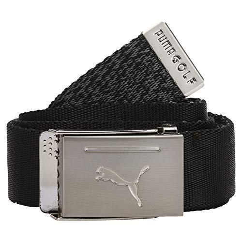 PUMA Herren Reversible Web Belt Gürtel, Black, OSFA