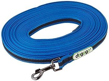 dogogo 13004–15Laisse en Caoutchouc sans, dragonne Bleu