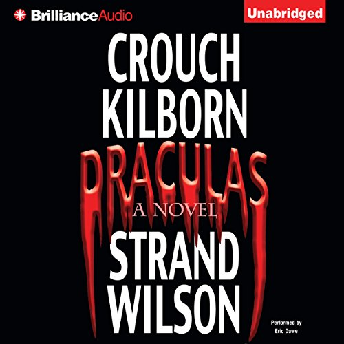 Draculas audiobook cover art