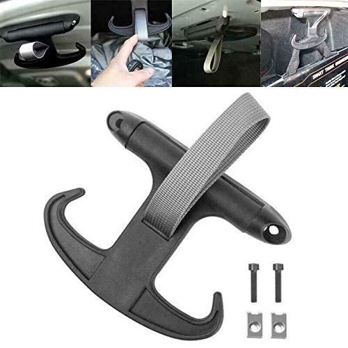Alician Kofferraum-Haken, schwarz, für VW Passat B6 CC Jetta MK5 Audi A4 Autozubehör
