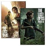 Close Up The Last of Us Part I & II Posterset (61 cm x 91,5