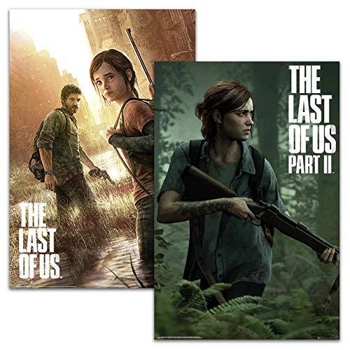 Close Up The Last of Us Part I & II Posterset (61 cm x 91,5 cm) 2er Set Videospiel Poster