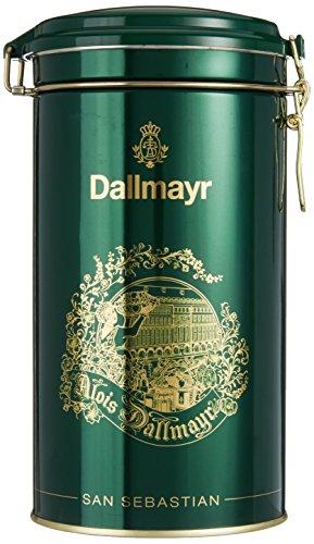 Dallmayr Kaffeedose San Sebastian dunkelgrün, für 500g Filterkaffee, Schmuckdose (1 x 0,5 kg)