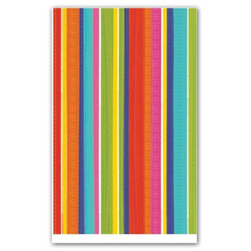 Nappe de table en plastique Summer Stripes Del Sol