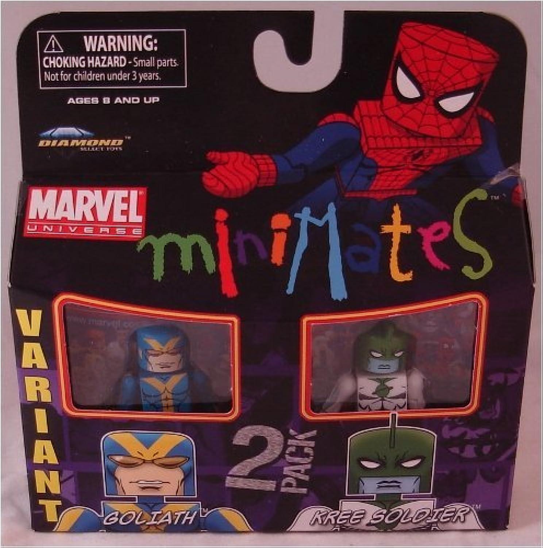 Diamond Select Marvel Minimates 2er Pack Goliath und Kree Soldier Variante